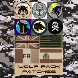 Wolf Pack Patches