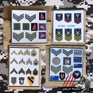 Action man Patches
