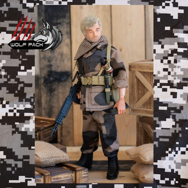 vintage action man residence fighter