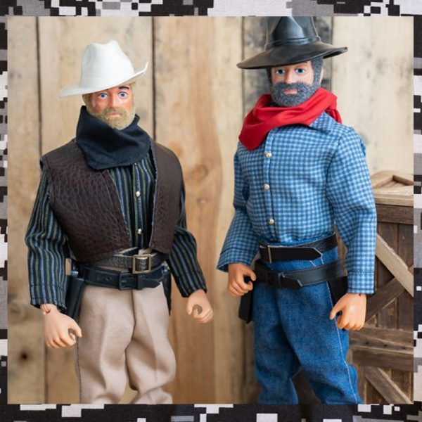 Action Man Cowboy shirts