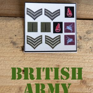 British Army Patches