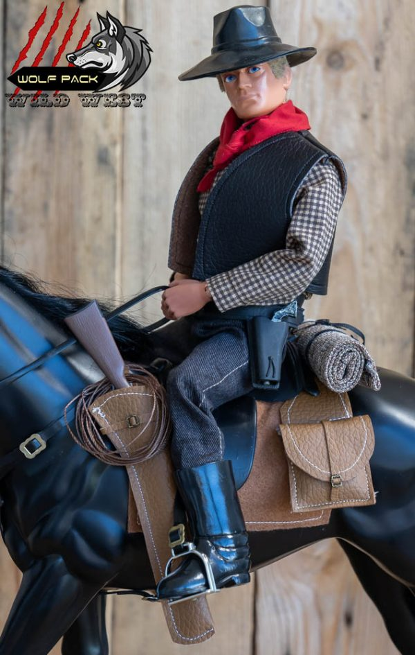 action man cowboy saddle