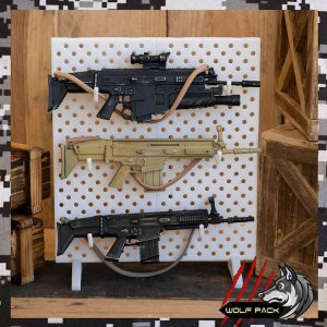 action man rifle rack