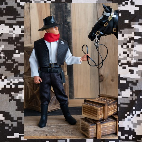 Vintage Action Man Sheriff