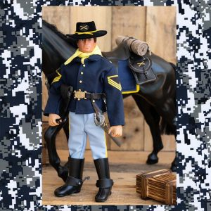 Vintage action man 7th cavalry
