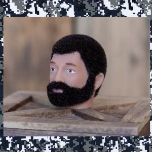 bearded action man
